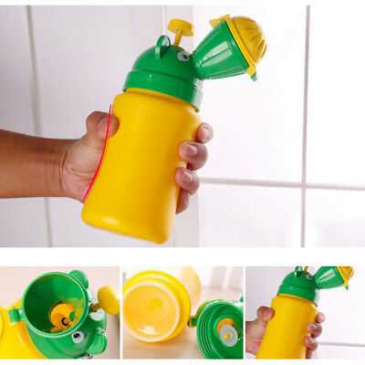 Cute Baby Portable Urinal Travel Car Toilet Kids Vehicular Potty For Boy Girl UK