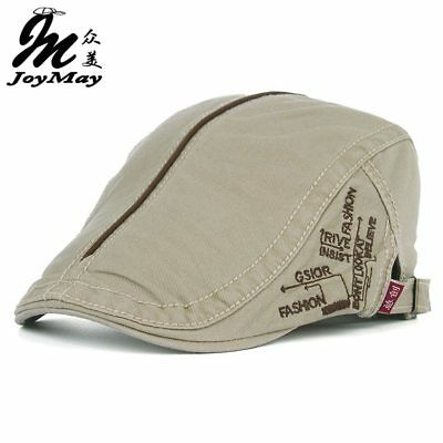 JOYMAY New Summer Cotton Berets Caps For Men Casual Peaked Caps Middle line