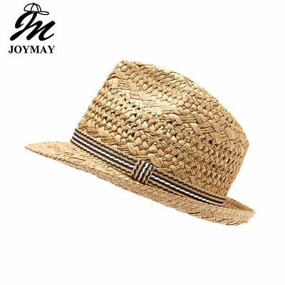 JOYMAY New Design Fashion High quality Handmade Straw Hat Parent child cap Jazz