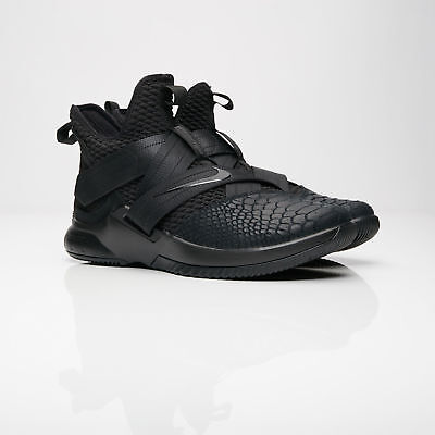 finest selection 1a1d8 765ae NIKE LEBRON SOLDIER 12 XII SFG Triple Black AO4054-003