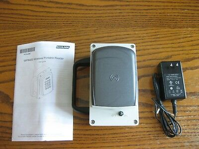 Schlage Wpr400 Wireless Portable Card Reader With Charger