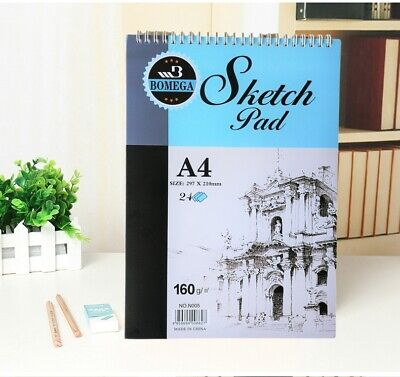 Hardcover Sketch Pad 160gsm 30 Sheets Quality Artist Drawing Paper Sketch Book
