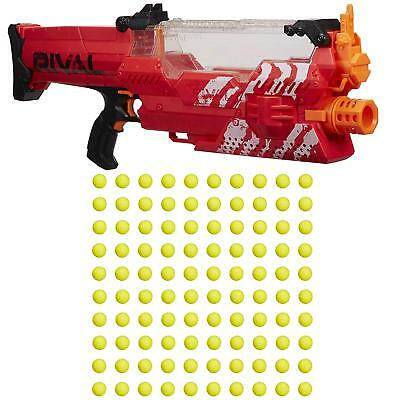 Nerf Rival Precision Battling Nemesis MXVII-10K Red Team, Red Toy Gun - Open Box