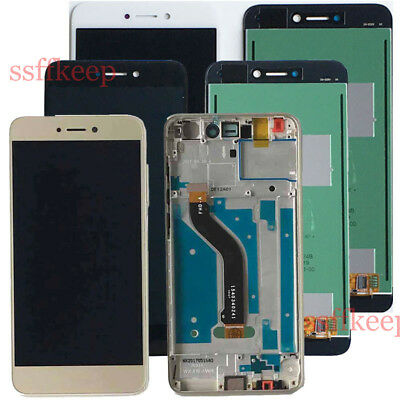Huawei P8 / P9 Lite 2017 TOUCH SCREEN Digitizer + LCD DISPLAY Assembly + Frame