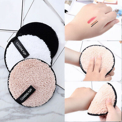 Tools Soft Face Cleaner Cleansing Cloth Pads Makeup Remover Towel  Plush puff