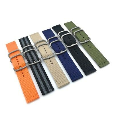 Nylon Watch Band Navy Replacement Military Wrist Watch Strap 18 20 22 24mm US