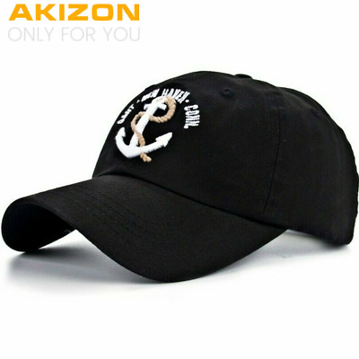 New Arrivals Cotton Gorras Anchor Baseball Cap Vintage Casual Hat Snapback