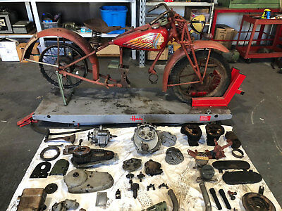 Indian 741 Scout Motorcycle Project