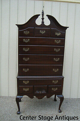 59420  ETHAN ALLEN High Boy Dresser Chest