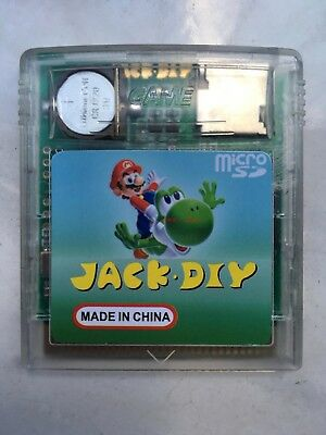 GBA GAME BOY JACK DIY EVERDRIVE Flash Card for GB,GBC GBA SP