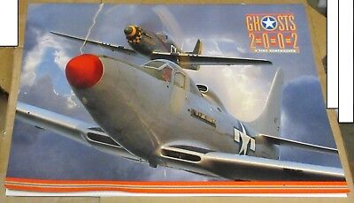 2002 Large Calendar - GHOSTS 2002 - Military Air Planes