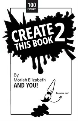 Create This Book 2, Brand New, Free shipping in the US