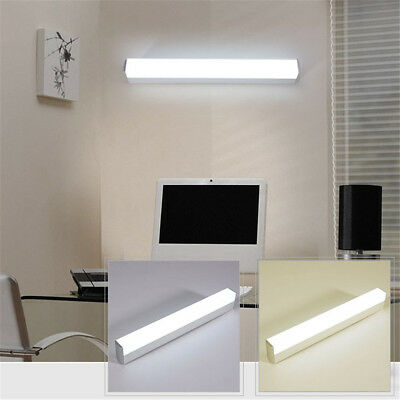 12/16/22W Modern Bathroom Wall Light Mirror Front LED Lighting Cabinet Lamp