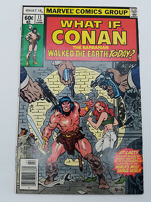 What If? 13 1978 Conan Walked The Earth Today 1st Marvel Universe Appearance