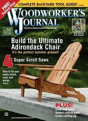 Woodworker's Journal Collection Dvd-Rom 7 Gb