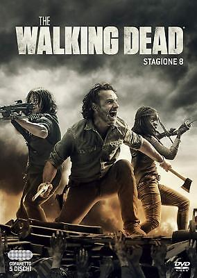 COFANETTO DVD - THE WALKING DEAD STAGIONE 8 - SERIE TV - 5 DVD - Nuovo