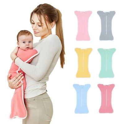 Newborn Baby Kid Swaddle Wrap Blanket Sleeping Bag Sleep Sack Bedding Anti-kick