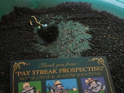 BLACK SAND CONCENTRATE troy lb 13 oz Gold Paydirt 1 gram+ guarantee No Nuggets