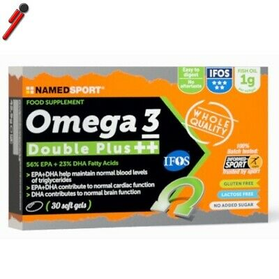 Named Sport, Omega 3 Double Plus ++, 30 cps. Acidi grassi Omega 3