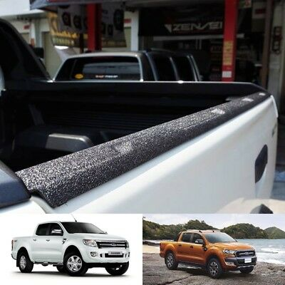 Black Back Rear Line Tail Gate Cover Fit Ford Ranger T6 T7 Px Wildtrak 2012-2019