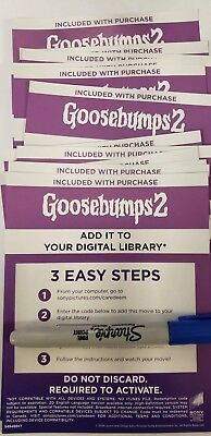 Goosebumps 2 Canadian Digital Code Only