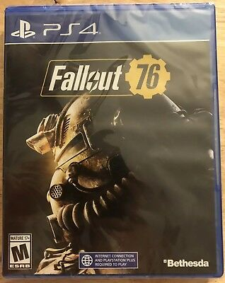 New Fallout 76 Ps4 Playstation Game Free Shipping Bethesda