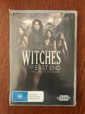 Witches Of East End: Season 1 DVD Region 4 New & Sealed