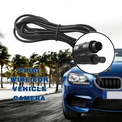 2M Dash Cam Rear View Backup Reverse Camera 4 Pin Extension Cable Wire Cord