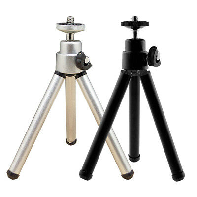 1 X Metal Portable Mini Light Table Top Stand Tripod Grip Stabilizer For~Cameras