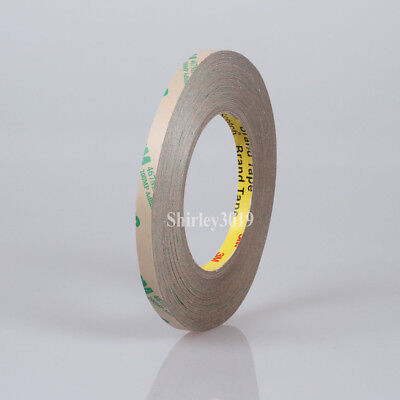 """2PK 1//8/"""" THICKNESS 3MM 3M 467MP Super Thin DOUBLE SIDED TAPE"""