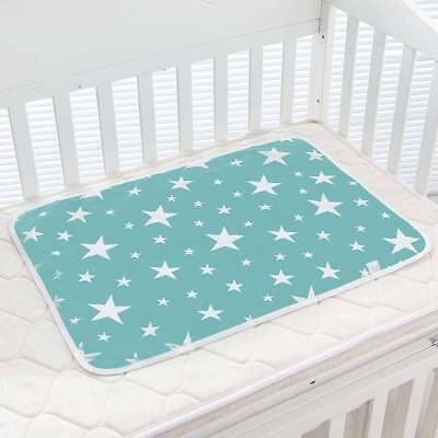 Baby Nappy Changing Pad Cotton Ecologic Diaper Cartoons Waterproof Mattress Bed