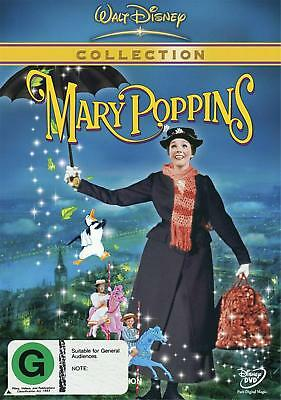 Mary Poppins Collection DVD (Region 4 PAL, Brand New SEALED)