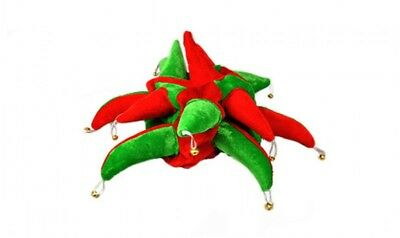 139cc1470d3 Red and Green Jester Hat - Football Supporters