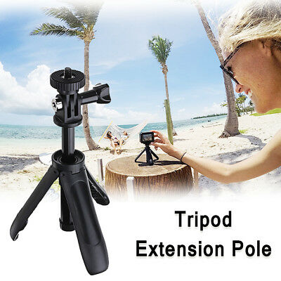 Adjustable Handheld Selfie Stick Tripod + Pro Shorty Mini Camera Extension Pole