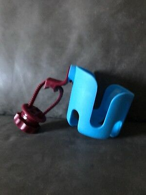 Mothercare Pram Cupholder With Attachments Blue/red