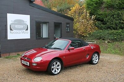 2000 Mgf 1.8 Vvc 145 Bhp, 48,000 Miles, Fsh, Headgasket Replaced, Stunning.