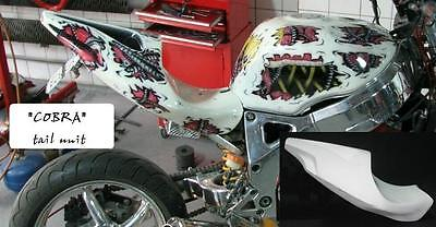 Cobra Custom motorcycle Streetfighter tail section seat universal fairing rear