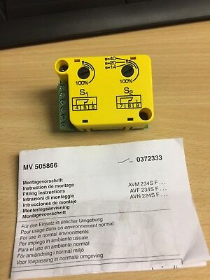 Sauter 0372333 002 potentiometer Brand New gold plated contacts for AVM AVF AVN