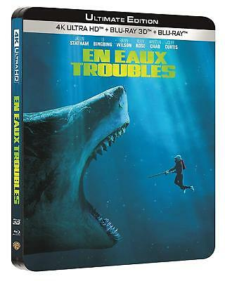 En Eaux Troubles Blu Ray Steelbook 4K Ultra Hd + Blu Ray Neuf Sous Cellophane