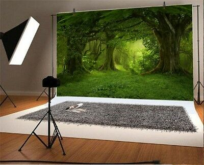 Old Tree Forest Backdrop Birthday Wedding Party Photography Background 10x6.5ft