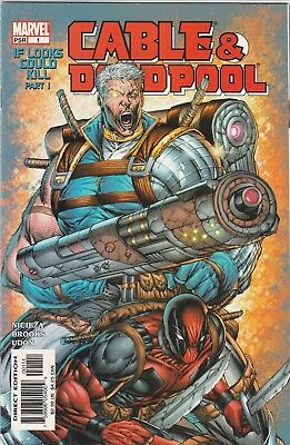 Cable and Deadpool #1 Marvel Comics May 2004