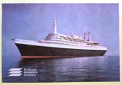ss Rotterdam . Holland America Cruises. Dutch Ocean Line. Luxury Ship. Vessel