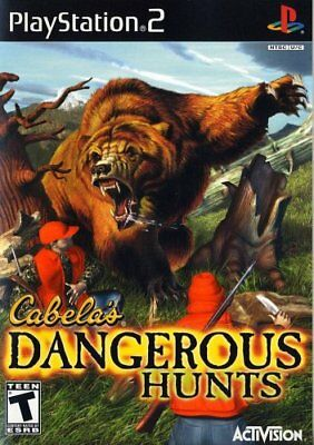 Cabela's Dangerous Hunts (LN) Pre-Owned Playstation 2