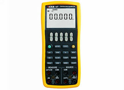 High-accuracy 0.02% DCV ohm Thermocouple RTD Process Calibrator Meter 2in1 VC14+