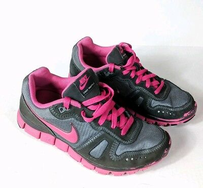 pretty nice c010b 3d2c2 Nike FREE WAFFLE 5.0 Running Shoes Athletic Sneaker Gray Pink Women s Size 7