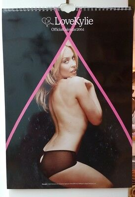 Kylie Minogue Wall Calendar Year 2004 Revised Price