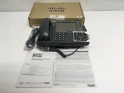 NEW in Box Cisco CP-7975G Eight Line Color Display Unified IP Phone VoIP