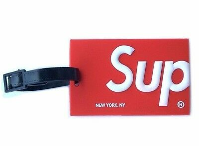 Supreme' Luggage Bag Tags'traveling baggage iD