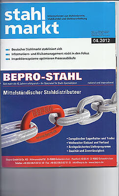 Stahlmarkt Zeitschrift    Tube Products Stahlindustrie 4/2012    Pipe Products