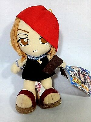 "RARE Shaman King ANNA KYOYAMA 7"" Plush Doll UFO Prize Japan Only BANPRESTO 2001"